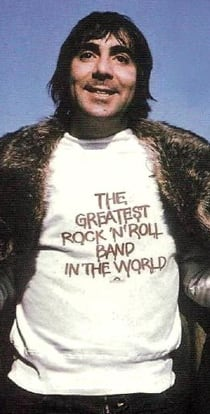 Keith Moon's The Greatest Rock N' Roll Band In The World Shirt
